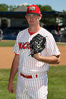 June 30th, 2007:  Josh Dew of the Batavia Muckdogs, Short-Season Class-A affiliate of the St. Louis Cardinals at Dwyer Stadium in Batavia, NY.  Photo by:  Mike Janes/Four Seam Images