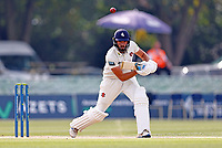 Jack Leaning bats for Kent during Kent CCC vs Worcestershire CCC, LV Insurance County Championship Division 3 Cricket at The Spitfire Ground on 6th September 2021