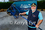 Angler Mike O'Brien at his home in Farranfore on Tuesday.