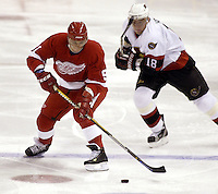 Sergei Fedorov Detroit Red Wiings. Photo F. Scott Grant