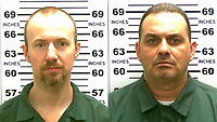 DANNEMORA, NY - JUNE 25:  Escaped inmate Richard Matt killed in 'shootout' with authorities as fellow con David Sweat still at large and possibly armed on June 25, 2015 in New York City<br /> <br /> People:  David Sweat, Richard Matt