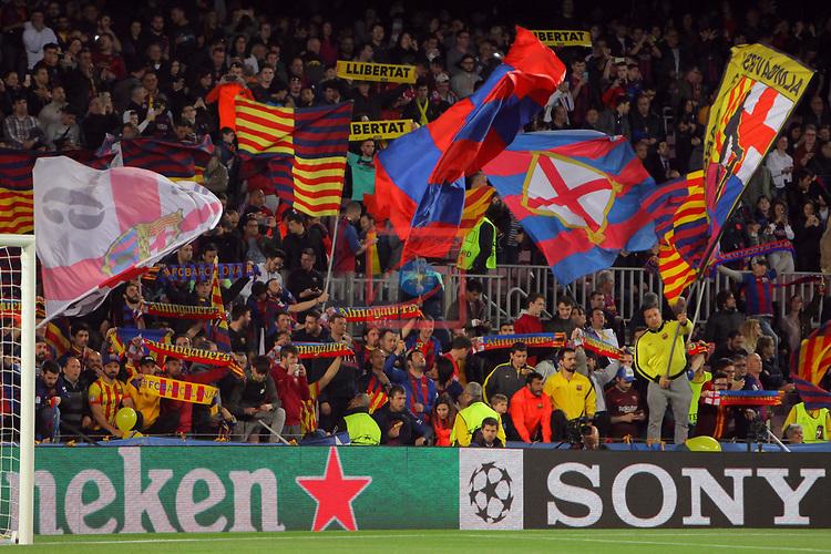 UEFA Champions League 2017/2018.<br /> Quarter-finals 1st leg.<br /> FC Barcelona vs AS Roma: 4-1.