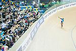 Leung Ka Yu of Hong Kong competes in the Men's Kilometre TT - Qualifying during the 2017 UCI Track Cycling World Championships on 16 April 2017, in Hong Kong Velodrome, Hong Kong, China. Photo by Chris Wong / Power Sport Images