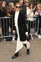 Olivia Palermo<br /> arrives for the Topshop Unique AW17 show as part of London Fashion Week AW17 at Tate Modern, London.<br /> <br /> <br /> ©Ash Knotek  D3232  19/02/2017