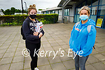 Ready for their Irish Paper 1 Leaving Cert exam in Mercy Mounthawk on Monday, l to r: Lucy Linnane and Ciara Black.