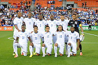 Washington, D.C.- May 29, 2014. Honduras Starting Eleven.   Turkey defeated Honduras 2-0 during an international friendly game at RFK Stadium.