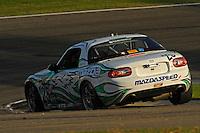 #25 Freedom Autosport Mazda MX-5 of Derek Whitis & Tom Long (ST class)
