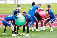 Spain's Marco Asensio, Nacho Fernandez, Iago Aspas, Rodri Hernandez, Rodrigo Moreno and Thiago Alcantara during training session. June 5,2018.(ALTERPHOTOS/Acero) /NortePhoto.com NORTEPHOTOMEXICO