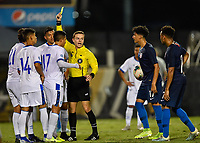 Miami, FL - Tuesday, October 15, 2019:  Referee during a friendly match between the USMNT U-23 and El Salvador at FIU Soccer Stadium.