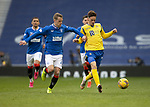 Rangers v St Johnstone…25.04.21   Ibrox.  Scottish Cup<br />Scott Tanser and Steven Davis<br />Picture by Graeme Hart.<br />Copyright Perthshire Picture Agency<br />Tel: 01738 623350  Mobile: 07990 594431