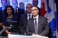 Les ministres Barrette et Anglade au CHUM<br /> , le 25 avril 2017.<br /> <br /> PHOTO : <br /> - Agence Quebec presse