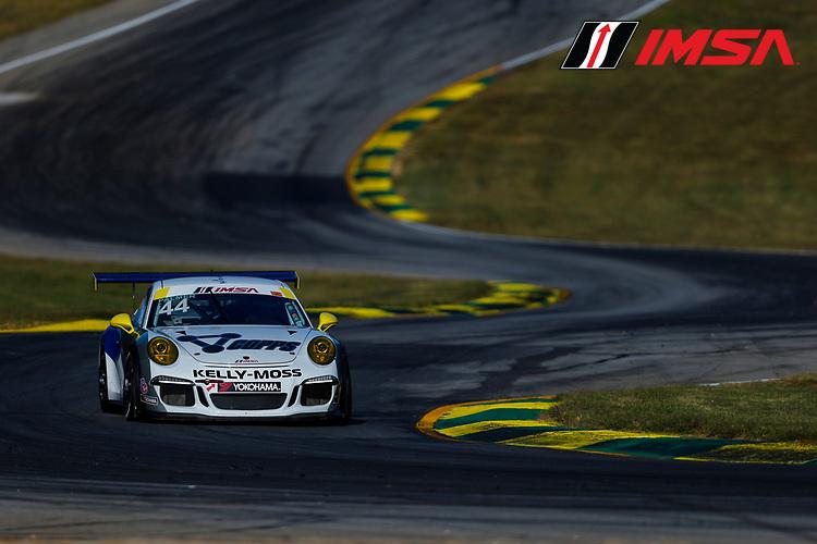 IMSA Porsche GT3 Cup Challenge USA<br /> Road Atlanta<br /> Road Atlanta, Braselton GA<br /> Wednesday 4 October 2017<br /> 44, Greg Palmer, GT3G, USA, 2015 Porsche 991<br /> World Copyright: Jake Galstad<br /> LAT Images