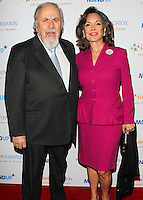BEVERLY HILLS, CA, USA - NOVEMBER 21: George Schlatter, Jolene Brand arrive at Goldie Hawn's Inaugural 'Love In For Kids' Benefiting The Hawn Foundation's MindUp Program held at Ron Burkle's Green Acres Estate on November 21, 2014 in Beverly Hills, California, United States. (Photo by Celebrity Monitor)