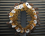 """Holiday Christmas wreath Colonial Williamsburg Virginia, wreath, holiday wreath, Christmas wreath, wreath, Colonial Williamsburg Virginia is historic district 1699 to 1780 which made colonial Virgnia's Capital, for most of the 18th century Williamsburg was the center of government education and culture in Colony of Virginia, George Washington, Thomas Jefferson, Patrick Henry, James Monroe, James Madison, George Wythe, Peyton Randolph, and others molded democracy in the Commonwealth of Virginia and the United States, Motto of Colonial Williamsburg is """"The furture may learn from the past,"""""""