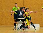 Deutschland - Sport<br /> Handball - Aufstiegsrunde zur 2. Bundesliga<br /> TuS Dansenberg (dan) - HSG Krefeld Niederrhein (kref) 24:21<br /> Fabian SERWINSKI (TuS Dansenberg), Nr. 42, - Lars JAGIENIAK (kref)<br /> <br /> Foto © PIX-Sportfotos *** Foto ist honorarpflichtig! *** Auf Anfrage in hoeherer Qualitaet/Aufloesung. Belegexemplar erbeten. Veroeffentlichung ausschliesslich fuer journalistisch-publizistische Zwecke. For editorial use only.