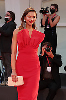 """VENICE, ITALY - SEPTEMBER 10: Juana Arias walks the red carpet ahead of the movie """"Nuevo Orden"""" (New Order) at the 77th Venice Film Festival on September 10, 2020 in Venice, Italy. <br /> CAP/MPI/AF<br /> ©AF/MPI/Capital Pictures"""