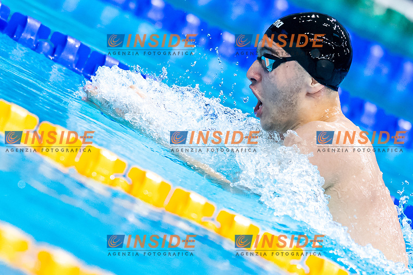PRISKA Paolo ALB<br /> 200m Individual Medley Men Heats<br /> Swimming<br /> Budapest  - Hungary  19/5/2021<br /> Duna Arena<br /> XXXV LEN European Aquatic Championships<br /> Photo Giorgio Scala / Deepbluemedia / Insidefoto