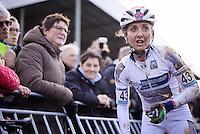 Eva Lechner (ITA/Colnago-SudTirol) post-race<br /> <br /> UCI Cyclocross World Cup Heusden-Zolder 2015