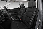 Front seat view of 2017 KIA Sportage 2.4-EX-AT-AWD 5 Door SUV Front Seat  car photos