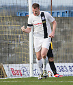 Ayr Utd's Kevin Kyle celebrates after he scores their third goal.