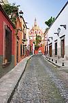 Mexico, Guanajuato, San Miguel de Allende, Aldama Alley