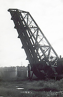 Cleveland:  Crane, drawbridge.