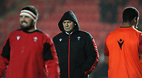 Wales head coach Wayne Pivac during the game<br /> <br /> Photographer Ian Cook/CameraSport<br /> <br /> 2020 Autumn Nations Cup - Wales v Georgia - Saturday 21st November 2020 - Parc y Scarlets - Llanelli - Wales<br /> <br /> World Copyright © 2020 CameraSport. All rights reserved. 43 Linden Ave. Countesthorpe. Leicester. England. LE8 5PG - Tel: +44 (0) 116 277 4147 - admin@camerasport.com - www.camerasport.com