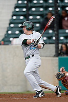 Cat Everett of the Tulane Green Wave during a game against the USC Trojans at Dedeaux Field on February 25, 2007 in Los Angeles, California. (Larry Goren/Four Seam Images)