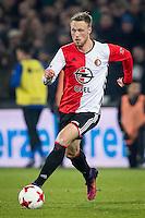 ROTTERDAM, Feyenoord - Willem II 1-0, voetbal, Eredivisie, seizoen 2016-2017, 21-01-2017, Stadion De Kuip, Feyenoord speler Nicolai Jorgensen.<br /> <br /> <br /> <br /> <br /> <br /> <br /> <br /> <br /> <br /> <br /> <br /> <br /> <br /> <br /> <br /> Foto Pro Shots / Insidefoto
