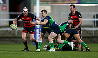 Friday 6th March 2020 | Armagh RFC vs Ballynahinch RFC<br /> <br /> Aaron Cairns during the Bank Of Ireland Ulster Senior Cup Final between the City of Armagh RFC and Ballynahinch RFC at Kingspan Stadium, Ravenhill Park, Belfast, Northern Ireland. Photo by John Dickson / DICKSONDIGITAL