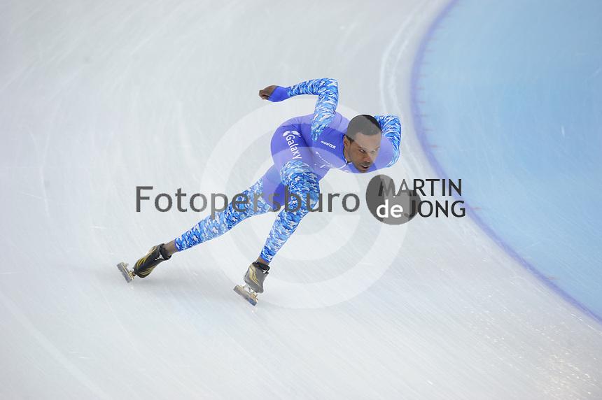 SPEEDSKATING: SOCHI: Adler Arena, 19-03-2013, Training, Shani Davis (USA), © Martin de Jong