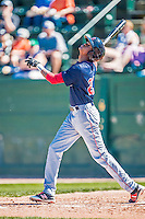 5 September 2016: Lowell Spinners outfielder and Baseball America top prospect Yoan Aybar in action against the Vermont Lake Monsters at Centennial Field in Burlington, Vermont. The Monsters defeated the Spinners 9-5 to close out their 2016 NY Penn League season. Mandatory Credit: Ed Wolfstein Photo *** RAW (NEF) Image File Available ***