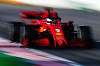 #05 Sebastian Vettel, Scuderia Ferrari. Formula 1 World championship 2020, Winter testing days #1 2020 Barcelona, 21-02-2020<br /> Photo Federico Basile / Insidefoto