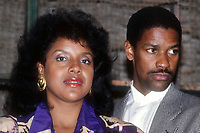 Phylicia Rashad Denzel Washington 1985, Photo By John Barrett/PHOTOlink