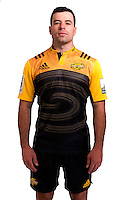 James Marshall. Hurricanes Super Rugby official headshots at Rugby League Park, Wellington, New Zealand on Wednesday, 6 January 2016. Photo: Dave Lintott / lintottphoto.co.nz