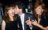 Laraine Newman John Travolta Marilu Henner 1985<br /> Photo by Adam Scull/PHOTOlink