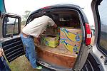 Loading Stranding Sea Turtles In Boxes For Transport, Welfleet Bay Wildlife Sanctuary, Audubon
