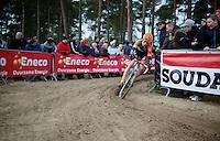 Wout Van Aert (BEL/Vastgoedservice-Golden Palace)<br /> <br /> Elite Men's Race<br /> Krawatencross<br /> bpost bank trofee