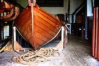 Lifeboat at the Shipreck Museum, Warrnambool