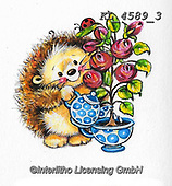 CUTE ANIMALS, LUSTIGE TIERE, ANIMALITOS DIVERTIDOS, paintings+++++,KL4589/3,#ac#, EVERYDAY ,sticker,stickers ,hedgehock,hedgehocks ,autumn