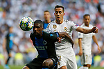 Real Madrid CF's Lucas Vazquez during UEFA Champions League match, groups between Real Madrid and Club Brugge at Santiago Bernabeu Stadium in Madrid, Spain. October 01, 2019.(ALTERPHOTOS/Manu R.B.)