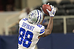 Dallas Cowboys wide receiver Dez Bryant (88) in action during the pre-season game between the Minnesota Vikings and the Dallas Cowboys at the AT & T stadium in Arlington, Texas. Minnesota defeats the Cowboys 28 to 14.