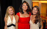 Kary Guthrie, Penny Loyd and Sarah Requa at the Houston Rockets Tux & Tennies benefit at Toyota Center Thursday March  27,2008. (Dave Rossman/For the Chronicle)