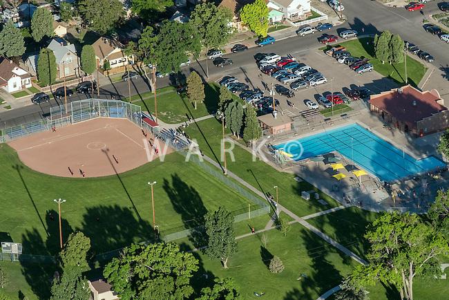 Summer at the Park in Bessemer, Pueblo, Colorado. June 2, 2015