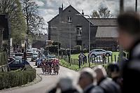 Early Break away group early race. with Tsgabu Grmay (ETH/Trek Segafredo), G Lawson Craddock (USA/Cannondale Drapac), Kevin Teltombe (BEL/Sport Vlaanderen Baloise), Edward Dunbar (IRL/Aqua Blue Sport), ..<br /> <br /> <br /> 53th Amstel Gold Race (1.UWT)<br /> 1 Day Race: Maastricht > Berg en Terblijt (263km)