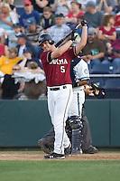 July 4, 2009: Yakima Bears third baseman Matthew Davidson, the Arizona Diamondbacks first pick in the Compensation-A round, at-bat during a Northwest League game against the Everett AquaSox at Everett Memorial Stadium in Everett, Washington.