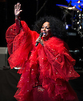 Diana Ross performs at Wolf Trap on August 14, 2013.