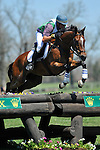 25 April 2009: Kyle Carter (CAN) aboard MADISON PARK at the Rolex Kentucky Three Day Event at the Kentucky Horse Park in Lexington, Kentucky.
