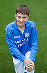 St Johnstone FC Academy U15's<br /> Ben Ragan<br /> Picture by Graeme Hart.<br /> Copyright Perthshire Picture Agency<br /> Tel: 01738 623350  Mobile: 07990 594431