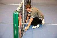 18-12-10, Tennis, Rotterdam, Reaal Tennis Masters 2010, Lijnrechter in actie